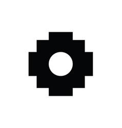 chakana inca symbol vector image