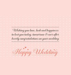 Collection stock of wedding greeting card simple vector