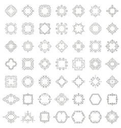 Frame collection vector