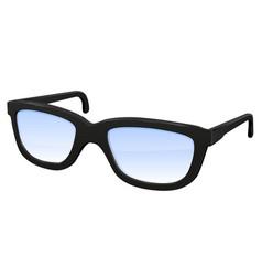 Glasses 3d vector