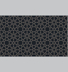 seamless pattern in authentic arabian vector image