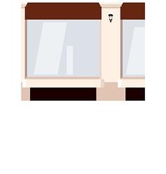 Street Shopfront Background vector