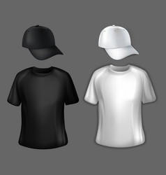Two sets of corporate clothes vector