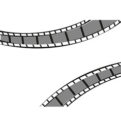 Filmstrip background vector image vector image