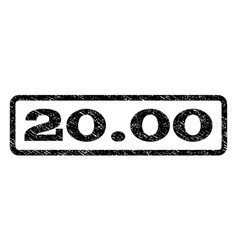 2000 watermark stamp vector image