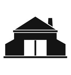 Blacksmith building icon simple style vector