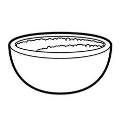 Bowl vector