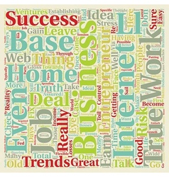 Business entrepreneur ideas trends 1 text vector