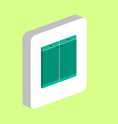 drawer computer symbol vector image