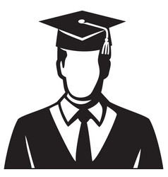 student graduate vector image vector image