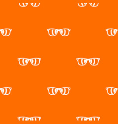 sunglasses pattern seamless vector image vector image