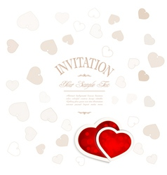background for valentines day vector image vector image