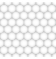 seamless hexagonal pattern background vector image vector image