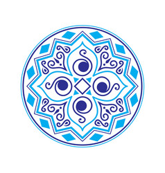 abstract ethnic logo vector image
