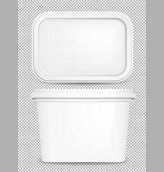 Butter box vector