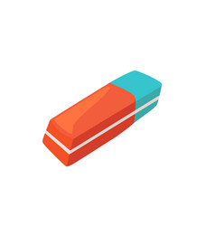 Eraser isolated vector