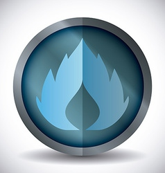 Gas natural design vector