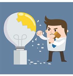 Hammer Bulb vector image