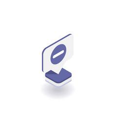 minus icon symbol vector image