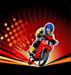 Road race vector