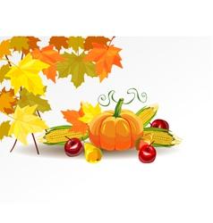 Thanksgiving celebration banner vector