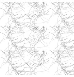 Wavy lines repeatable pattern black and white vector