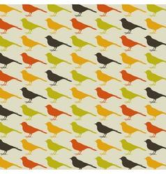 Background of birds vector image