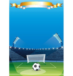 Soccer Sports stadiums vector image vector image