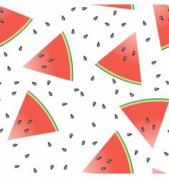 watermelon seamless tile vector image