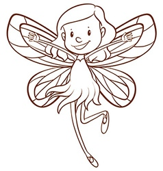 A fairy vector image