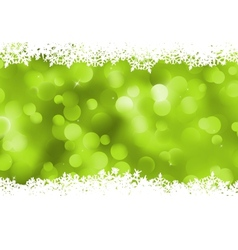 Background green magic lights bokeh EPS 8 vector