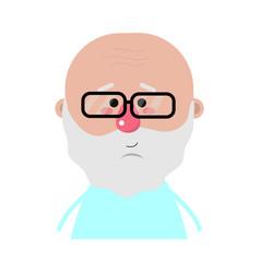 grandfather cartoon design vector image
