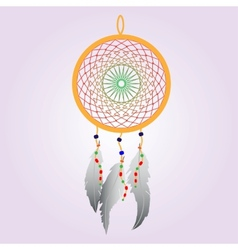 Indian Dream catcher Color vector