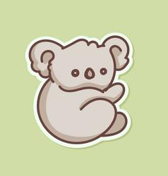Koala babear vector
