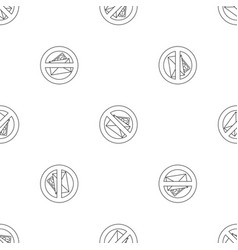 no money bribery pattern seamless vector image