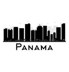 Panama silhouette vector