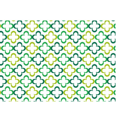 Pattern clover abstract seamless vector