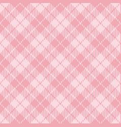pink tartan plaid seamless patterns vector image