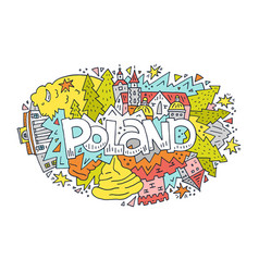 Poland symbols vector