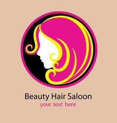 Saloon logo design vector image