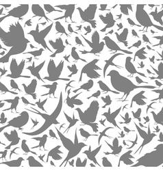 Background of birds3 vector image vector image
