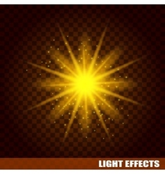 Bright sun burst Cosmic eps background vector
