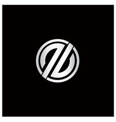 Double letter p logo vector