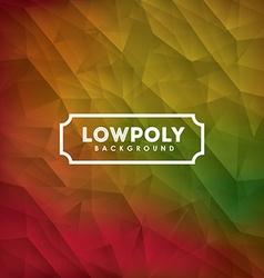 Lowpoly design vector