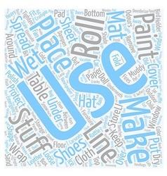 MIS 10 text background wordcloud concept vector