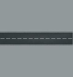 racing track road traffic marking lane vector image