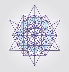 Star Tetrahedron design vector