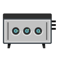 cd player icon isolated vector image vector image