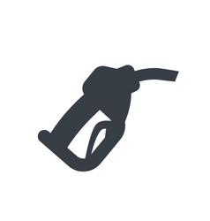 gasoline nozzle gas station icon vector image