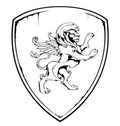 Vintage Lion vector image vector image